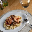 Shrimp Scampi — Stock Photo #8945823