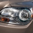 Car Headlight Detail — Stock Photo