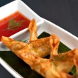 Thai Rangoons Appetizer — Stock Photo