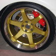 Gold rims — Stock Photo #8946368