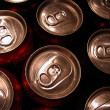 Beverage can tops — Stock Photo