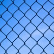 Chain Link Fence — Stock fotografie