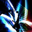 Stock Photo: Abstract Basketball Silhouette