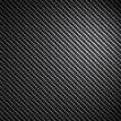 Black Carbon Fiber Texture - Stock Photo