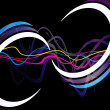 Funky Waveforms — Stock Photo