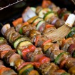 Shish Kebabs on the Grill — Stock Photo #8947842