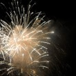 Golden Fireworks — Stock Photo #8947856