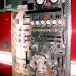 Fire truck detail — Stock Photo