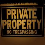 Private property — Stock Photo #8948151