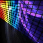 Abstract Rainbow Wall — Stock Photo #8948421
