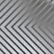 Hazard Stripe Metal — Stock Photo