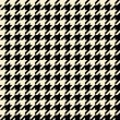 Tan Houndstooth Pattern — Stock Photo