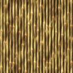 Bamboo Wall Background — Stock Photo
