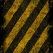 Royalty-Free Stock Photo: Grunge Hazard Stripes