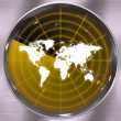 World Radar Screen — Stock Photo #8948602