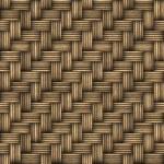 Wicker Woven Basket Texture — Stock Photo #8948614