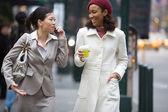 City Business Women — Stock Photo