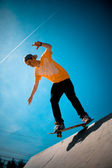 Cool Skateboarder — Stock Photo