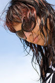 Beach Hair — Stock Photo
