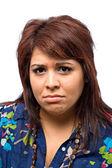 Sad Faced Woman — Stock Photo