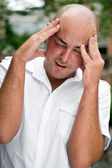 Head Pain — Stock Photo