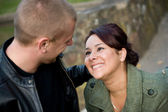 Young Couple Dating — Stock Photo