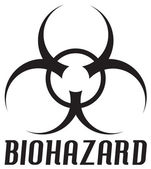 Biohazard Symbol — Stock Photo