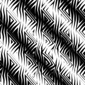 Triangular Tribal Pattern b&w — Stock Photo