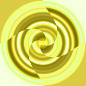 Spinning Yellow Thing — Stock Photo