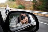 Paparazzi Photographer — Stock Photo