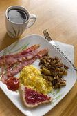 Big Delicious Breakfast — Stock Photo