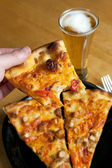 Buffalo Chicken Pizza — Stock Photo