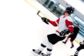 Hockey Players Fast Break — Stock Photo