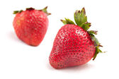 Two Ripe Strawberries — Stock Photo