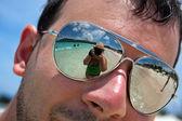 Tropical Beach Vacation — Stock Photo