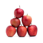 Red Apples Pyramid — Stock Photo