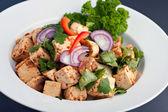 Thai Food Tofu Stir Fry — Stock Photo