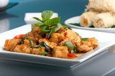 Antipasti e piatti tailandesi — Foto Stock