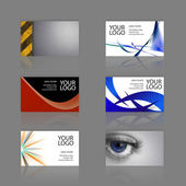 Bussiness Card Assortment — Stock Photo