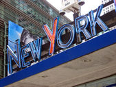 New York Sign — Stock Photo