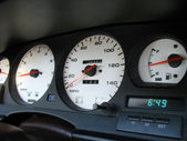 Custom gauges — Stock Photo