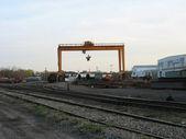 Estación de carga del ferrocarril — Foto de Stock