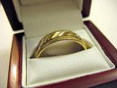 メンズ結婚指輪 — ストック写真