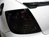 Sportscar Tail Light Macro — Stock Photo