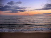 New England Beach Sunset — Stock Photo