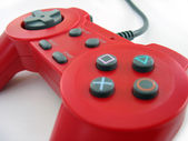 Red controller — Stock Photo