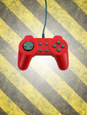 Game controller w clipping path — Stock Photo