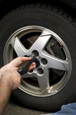 Wheel Mechanic — Stockfoto