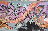 Spraypainted Graffiti — Stock Photo
