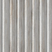 Seamless corrugated metal — Stock Photo
